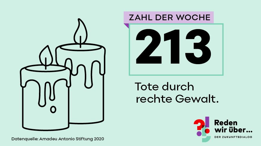 313 Tote durch rechte Gewalt