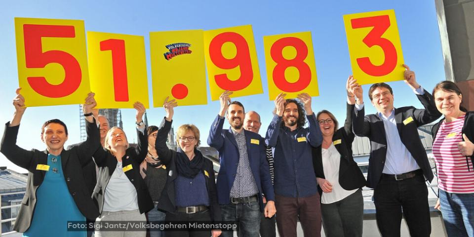 Mietenstopp in Bayern: DGB aktiv in Bündnis für Volksbegehren