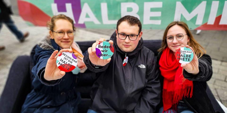 Bezahlbar ist die halbe Miete – DGB macht in Aachen Druck für bezahlbaren Wohnraum