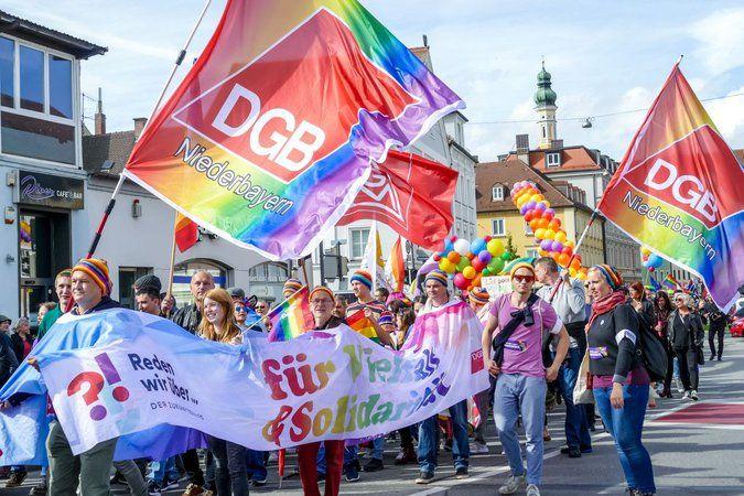 Christopher Street Day in Landshut
