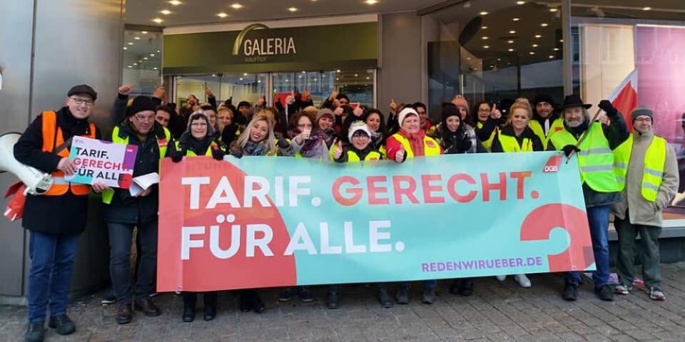 Kaufhof-Streik in Speyer (Foto: DGB-Region Vorder- und Südpfalz)