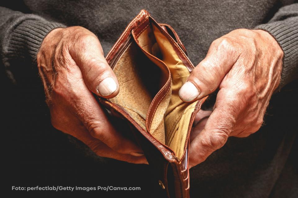 Kurzarbeit beschert vielen Menschen leeres Portemonee