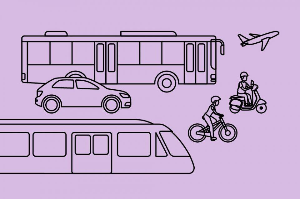 Bahn, Auto, Bus, Fahrrad, Roller: Wie sieht der Verkehr der Zukunft aus?