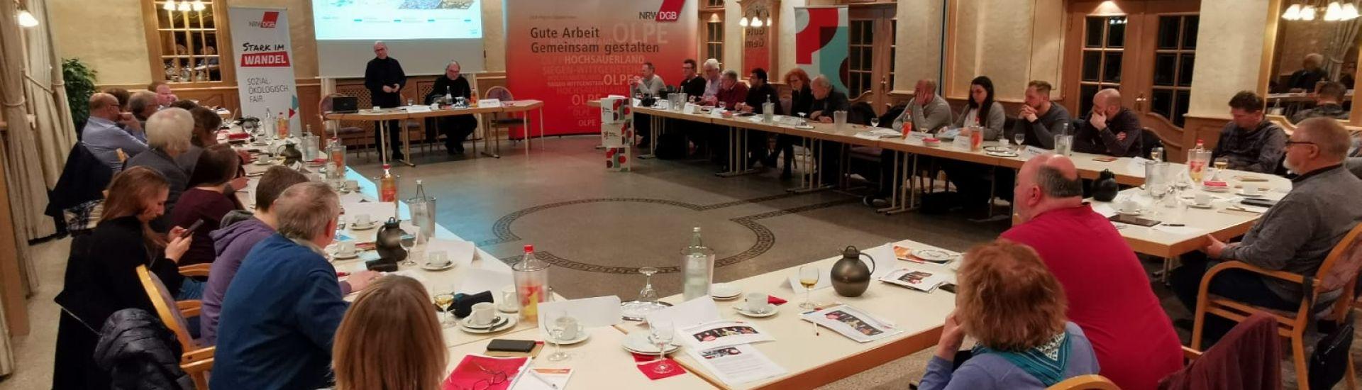 Bild zu Regionalkonferenz der DGB-Region Südwestfalen in Olpe-Oberveischede
