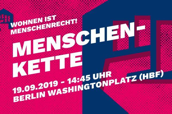 Mietdemo in Berlin: Wohnen ist Menschenrecht