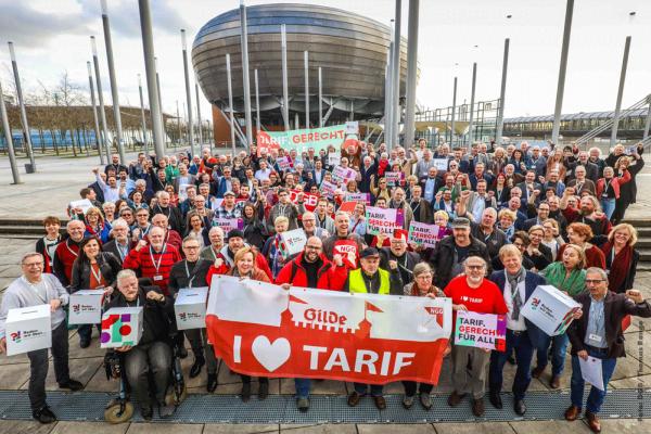 DGB solidarisch mit Gilde-Beschäftigten in Hannover