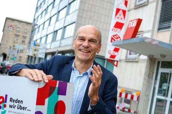 Dieter Bürk setzt sich für Gute Arbeit in Karlsruhe ein (Foto: DGB/Thomas Range)