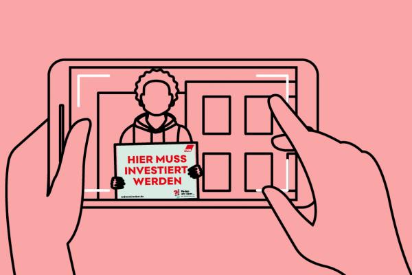 Fotoaktion #InvestierHier