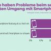 Handy-süchtig: Viele kommen von Smartphone nicht los laut Studie